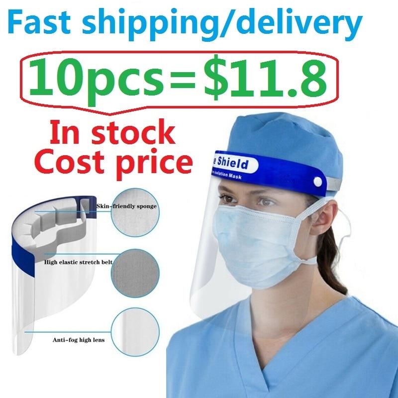 Splash Proof Protective Face Shield Reusable Full Face Protective Mask Saliva Protection Clear Visor Respirator|Mascarillas de mujer|   - AliExpress