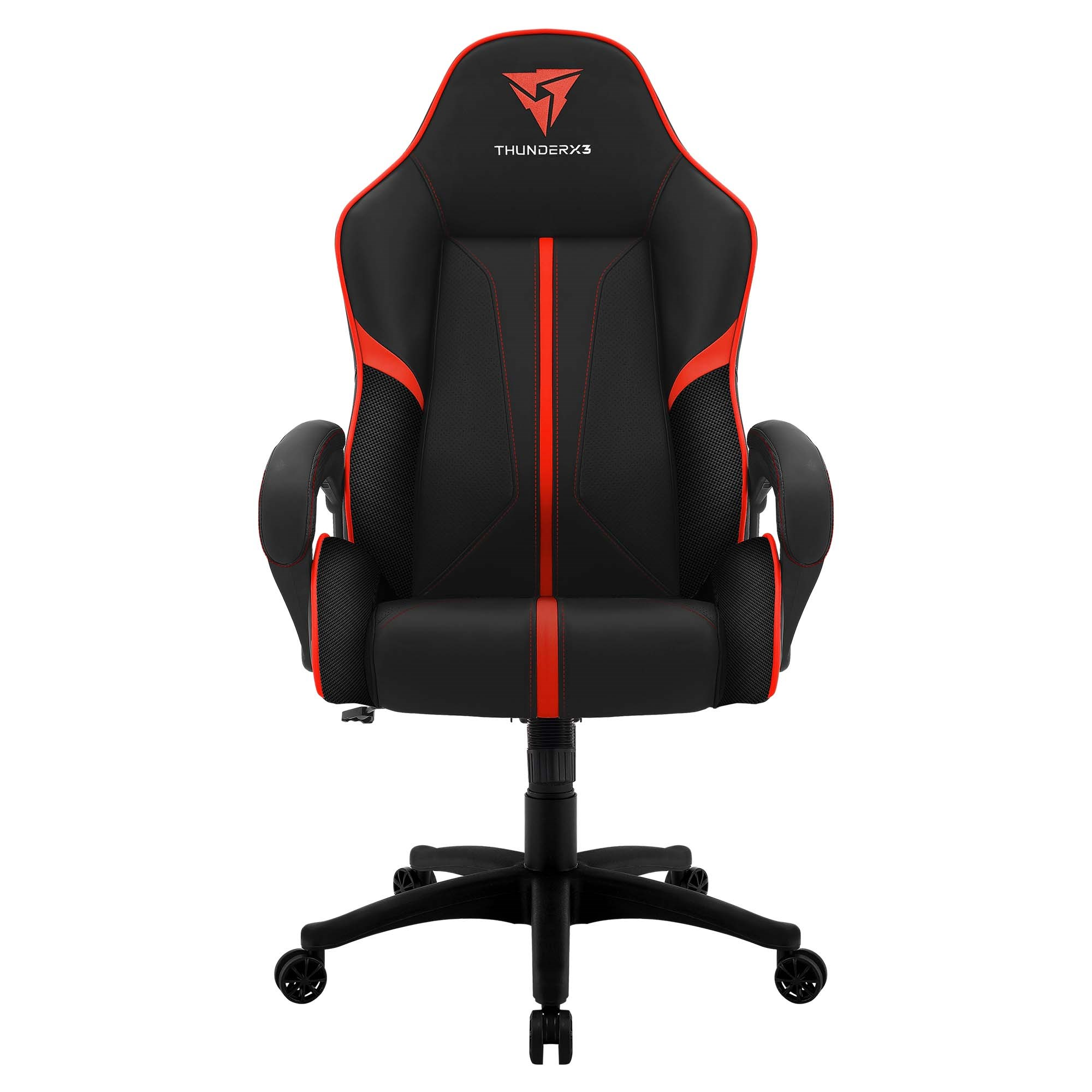 ThunderX3 BC1, Chair Gaming Ergonomic, Synthetic Leather, Technology AIR, Adjustable Height, Red