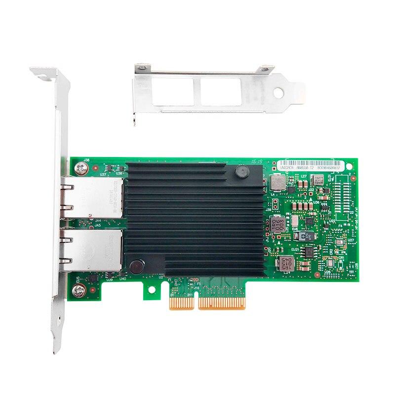 Hot sale X550-T2 10G Dual port RJ45 PCIe3.1 X8 Network Card Intel X550 3