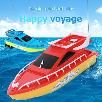 Odkryty Mini łódź podwodna łódź motorowa o dużej mocy pilot Model RC łódź dla dzieci wczesne artykuły szkolne tanie i dobre opinie JOCESTYLE Z tworzywa sztucznego 40min No Warranty 2 kanałów 26CM 5-7 lat Remote Control Boat Ready-to-go