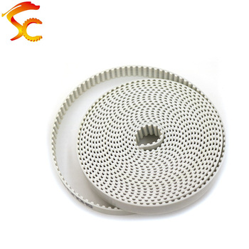 10Meters/lot T10 timing belt T10 25mm pitch=10mm Width 25mm T10 open timing belt PU with steel core Metric trapezoidal