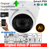 DAHUA english Security IP Camera 4MP Day/Night WDR Surveillance IR Eyeball AI Network Camera IP67 DH IPC HDW5442TM AS