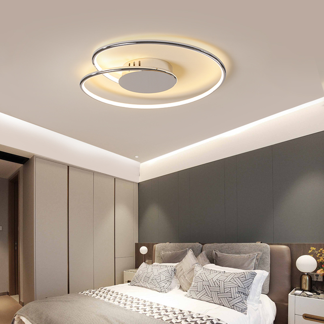 Chrome/Gold Plated modern led Ceiling light Ceiling Lights Lighting