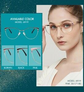 Image 2 - MEESHOW Glasses Frame Brand women cat eyes Prescription Eyeglasses Female Myopia Optical Frames Clear Spectacles Eyewear 2020