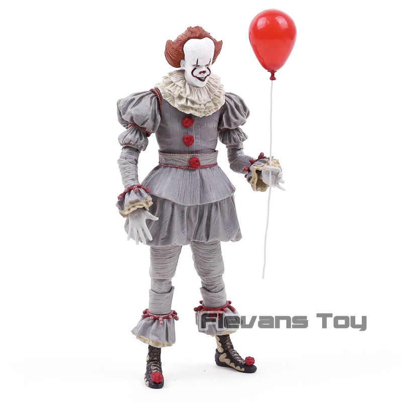 NECA Stephen King's It Pennywise Joker Clown PVC figurine jouet cadeau