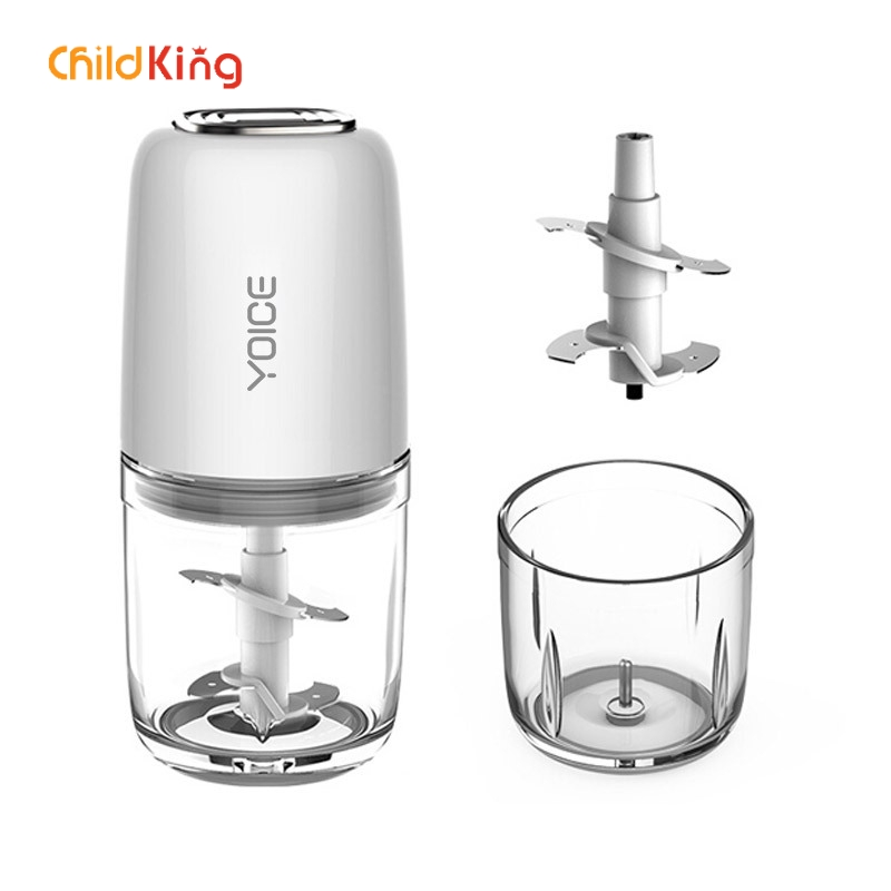 ChildKing Electric Baby Food Machine  Fruit And Vegetable Blender Safe  Convenient Mini Portable Multi-function Juicer