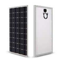 Jingyang solaire 100w 200w 300w 400w panneau solaire 18V verre panneaux solaires 100W panneau solaire monocristallin panneau solaire 12V solaire