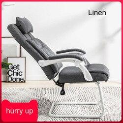 Łuk krzesło do pracy na komputerze rozkładany obrotowy fotel biurowy krzesło konferencyjne tkaniny oparcie domowe krzesło do nauki ergonomiczne krzesło proste