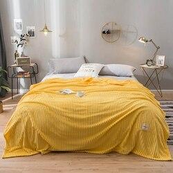 Cobertor quadrado quente macio da flanela da cor sólida dos cobertores de yaapeet para as camas no lance da espessura da cama para a cobertura do sofá