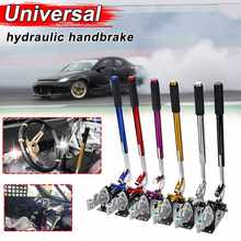 Alavanca de freio de mão hidráulico, equipamento universal de 32.4cm de liga de alumínio e freio m8/m13 para corrida