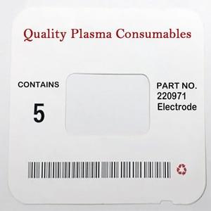 Image 1 - Справ. № 220971 WS, Расходные электроды для плазменной горелки 125A PKG/10