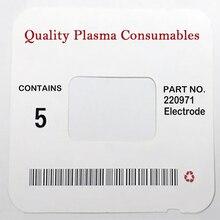 Ref: 220971 WS antorcha de corte por Plasma consumibles electrodos para 125A PKG/10