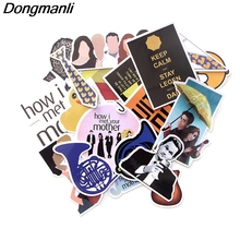 L3478 Dongmanli 20 Pcs/set How I Met Your Mother  TV Show DIY Skateboard Graffiti Laptop Badge Motorcycle Luggage Accessories