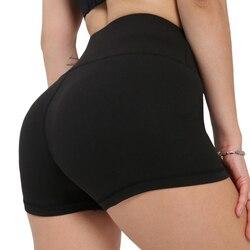 SVOKOR Workout Fitness Shorts Seamless Biker Shorts Women High Waist Female Clothing Push Up Short Elasticity Breathable