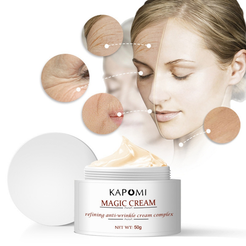 50ml Day Night Facial Anti Wrinkle Face Cream Anti Aging Dry Moisturizing Lifting Hyaluronic Firming Cream image