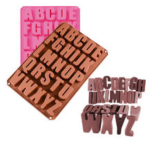 Новый Алфавит бетонные формы штукатурка номер силиконовые diy