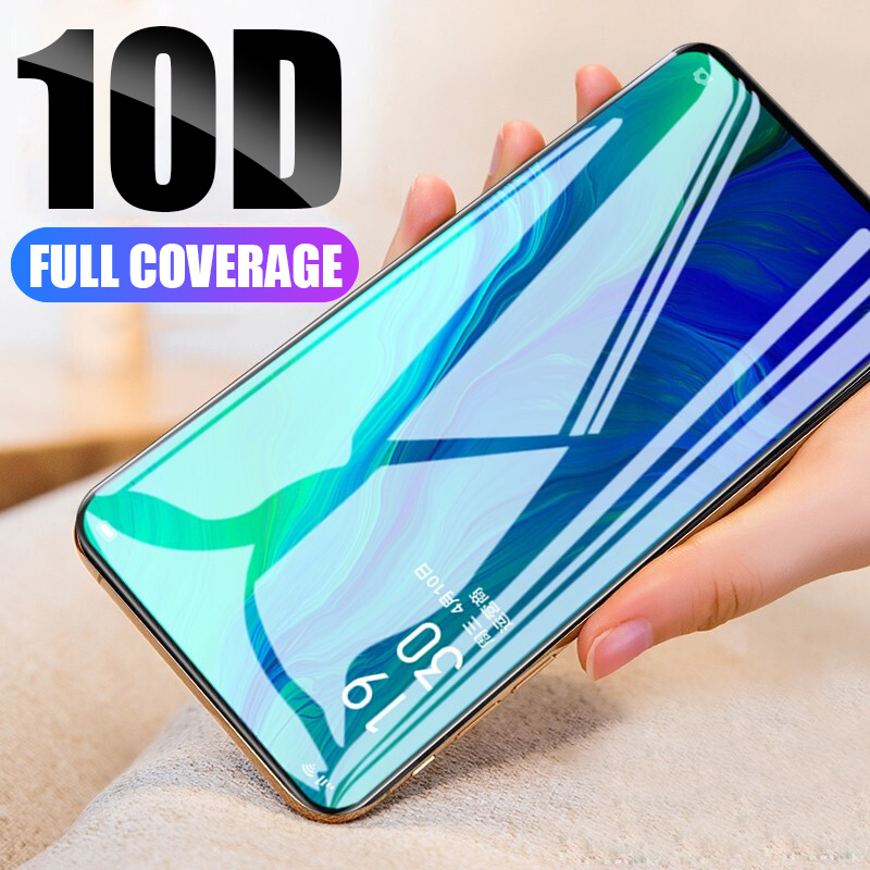 10D Tempered Glass On The For Samsung Galaxy A20 A50 A40 A30 A60 A70 A80 J4 J5 J6 Plus 2018 Full Cover Protection Glass
