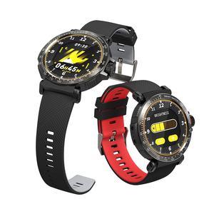 Image 2 - BlitzWolf BW AT1 שעון חכם מסך מגע מלא UI דינמי צג חמצן לחץ דם קצב לב דופק מזג אוויר גשש כושר צמיד גשש כושר Smartwatch שחור גברים נשים