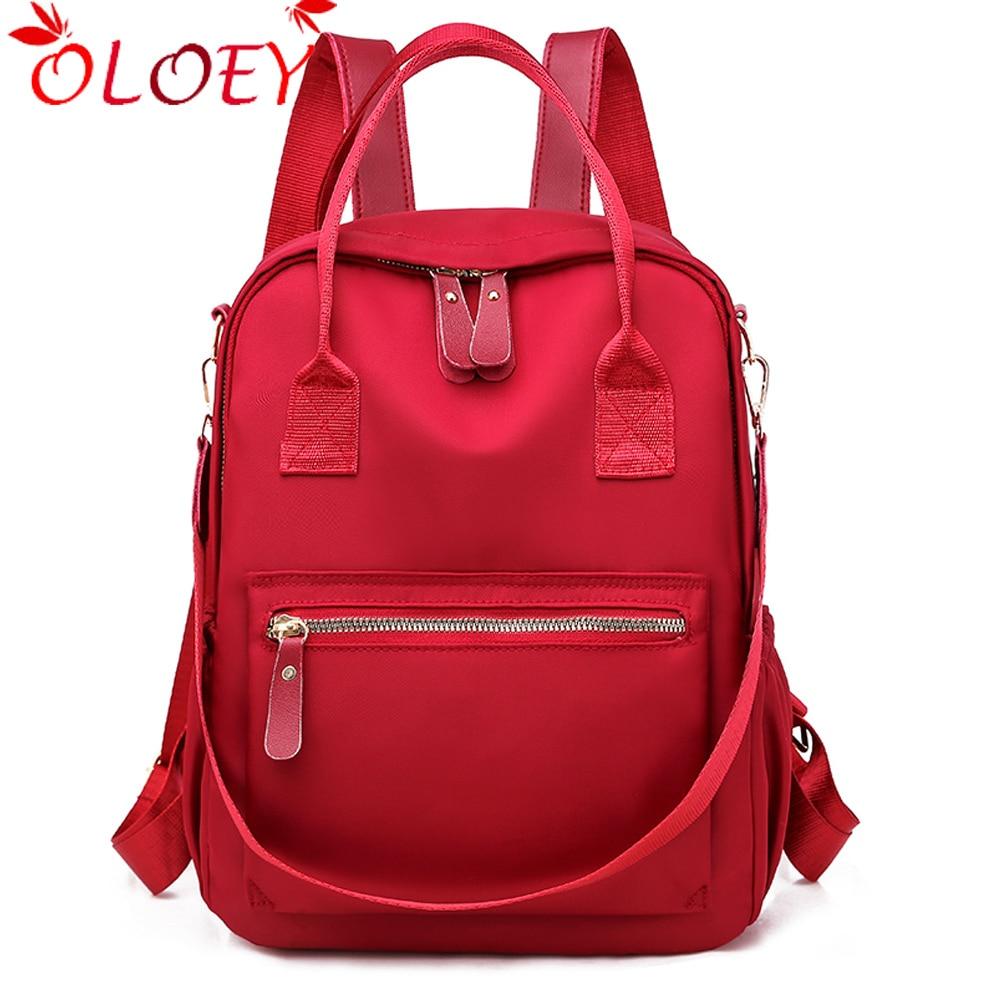 Fashion Waterproof Backpack Light Women Travel Bagpack High Quality School Bag Casual Shoulder Bags For Teenage Girls Mochila