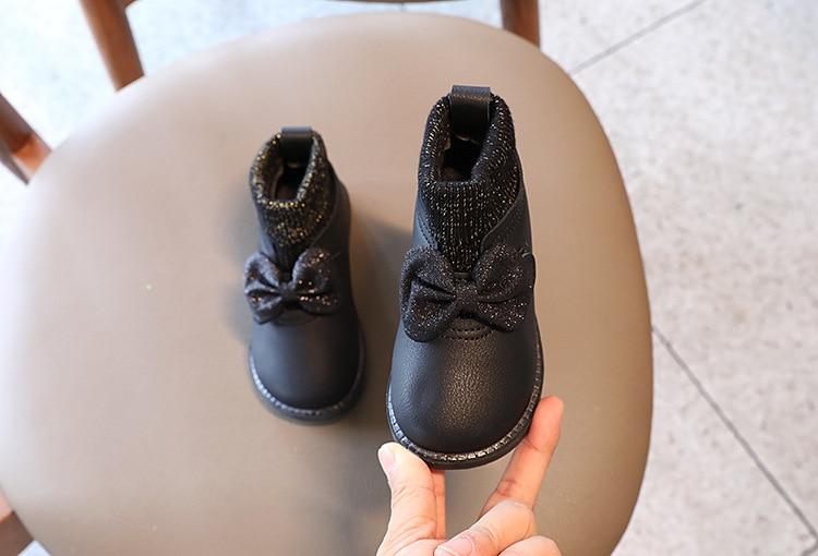 outono inverno novas crianças meias botas de