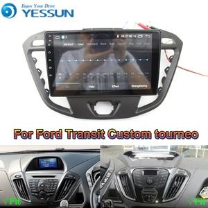 Image 1 - Reproductor Multimedia Android para coche Ford Transit, Radio con navegación GPS, pantalla IPS grande, Mirror Link, estéreo, personalizado, Tourneo 2013 2019