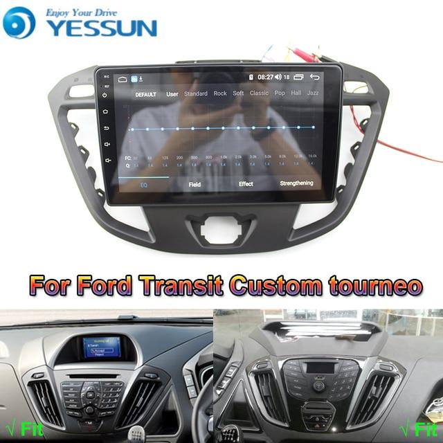 Reproductor Multimedia Android para coche Ford Transit, Radio con navegación GPS, pantalla IPS grande, Mirror Link, estéreo, personalizado, Tourneo 2013 2019