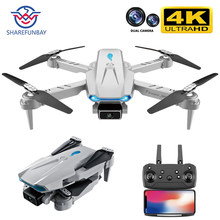 2021New S89 pro Drone 4k HD Dual Camera Visual Positioning 1080P WiFi Fpv Dron Height Preservation Rc Quadcopter VS V4 Drone Toy