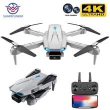 2021new s89 pro zangão 4k hd câmera dupla posicionamento visual 1080p wifi fpv dron altura preservação rc quadcopter vs v4 brinquedo zangão