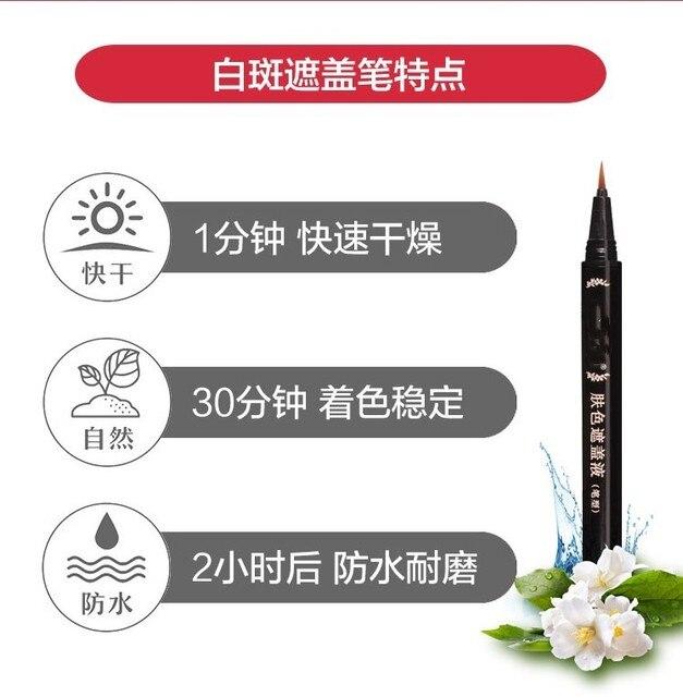Crema correctora Reparación de la piel, resistente al agua, para cobertura Vitiligo, cobertura de manchas ocultas, marcas de nacimiento, nuevo