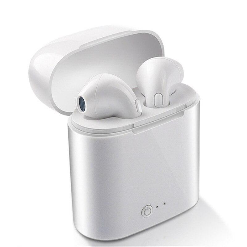 I7s TWS Wireless Earpiece Bluetooth Earphones I7 Sport Earbuds Headset With Mic For Smart Phone IPhone Xiaomi Samsung Huawei HTC