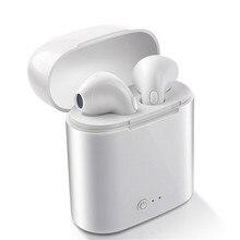 i7s TWS Wireless Earpiece Bluetooth Earphones I7 sport Earbuds Headset With Mic For smart P