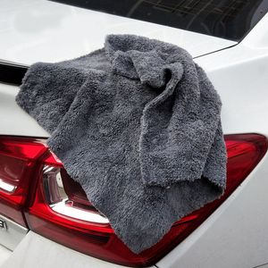 Image 5 - 350GSM Premium Microfiber Car Detailing Super AbsorbentTowel Ultra Soft Edgeless Car Washing Drying Towel 40X40CM Dropshipping