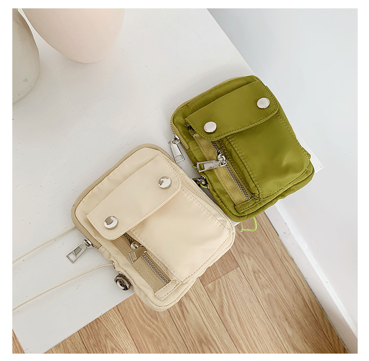 Ins Popular Fashion Canvas  Bag Adjustable Length, Multifunctional, Canvas Bag, Fanny Pack