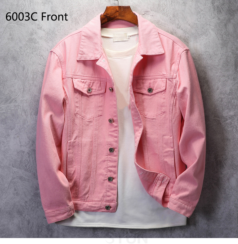KSTUN Mens denim Jacket Jeans jackets red jean jacket regular fit Bomber Jacket cotton 2019 brand jacket men's coats Chaqueta Hombre 14