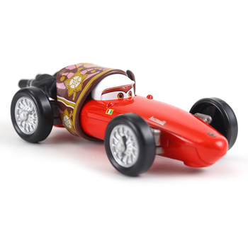 Disney Pixar Cars 2 And Cars 3 Toy Cars Lightning McQueen Jackson Mack Uncle 1:55 Diecast Model Car Toy Children Gift image