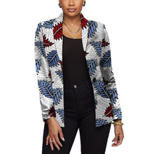 African print women blazers Dashiki fashion suit jackets for ladies customize Ankara outfits(China)