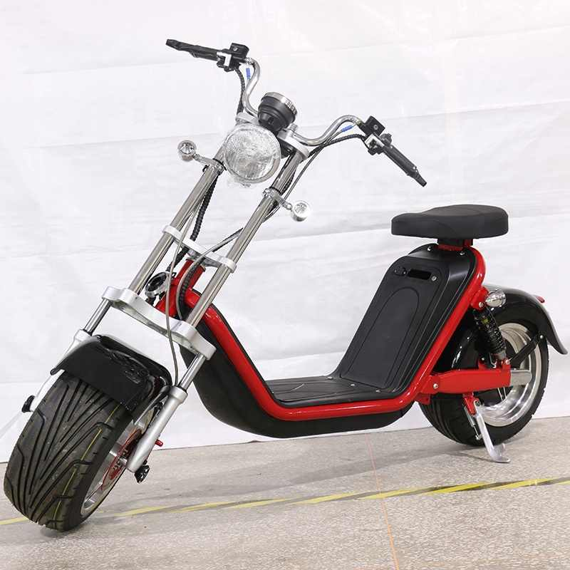 New Model Netherlands warehouse citycoco M2 12 inch 1500w electrical scooter