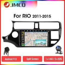 JMCQ Android 9.0 RDS DSP Radio samochodowe multimedialny odtwarzacz wideo dla KIA K3 RIO 2011-2015 2 din 2G + 32G Navigaion GPS podzielony ekran