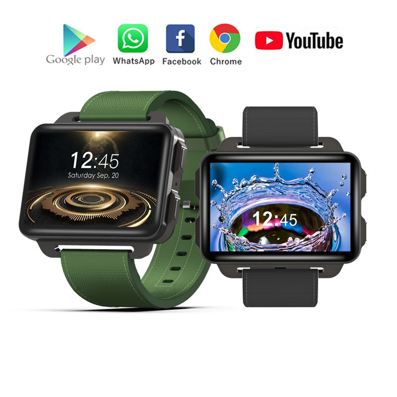 DM99 DM98 Advanced Luxury Smartwatch Phone 2.2'' IPS 320*240 Smart Watch 3G Calling 1.3MP Pedometer IOS/Android PK AEKU I5 Plus
