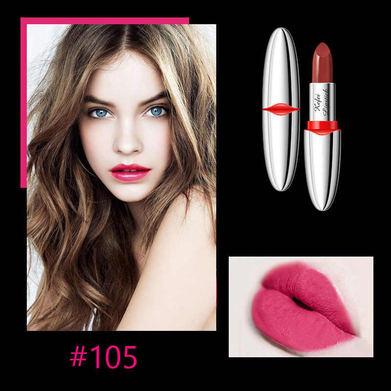 Rouge à lèvres mat Siambird longue durée pour le maquillage rouge rouge rubis Rose bâtons à lèvres