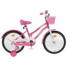 Велосипед 18' Graffiti Flower, цвет розовый/белый