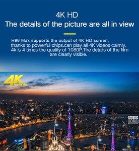 Image 5 - LEMFO TV Box أندرويد 9.0 H96 MAX + 4GB RAM 64GB 32GB H.265 4K HDMI 2.0a 2.4G/5G WiFi ثلاثية الأبعاد Netflix يوتيوب مشغل جوجل مجموعة صندوق
