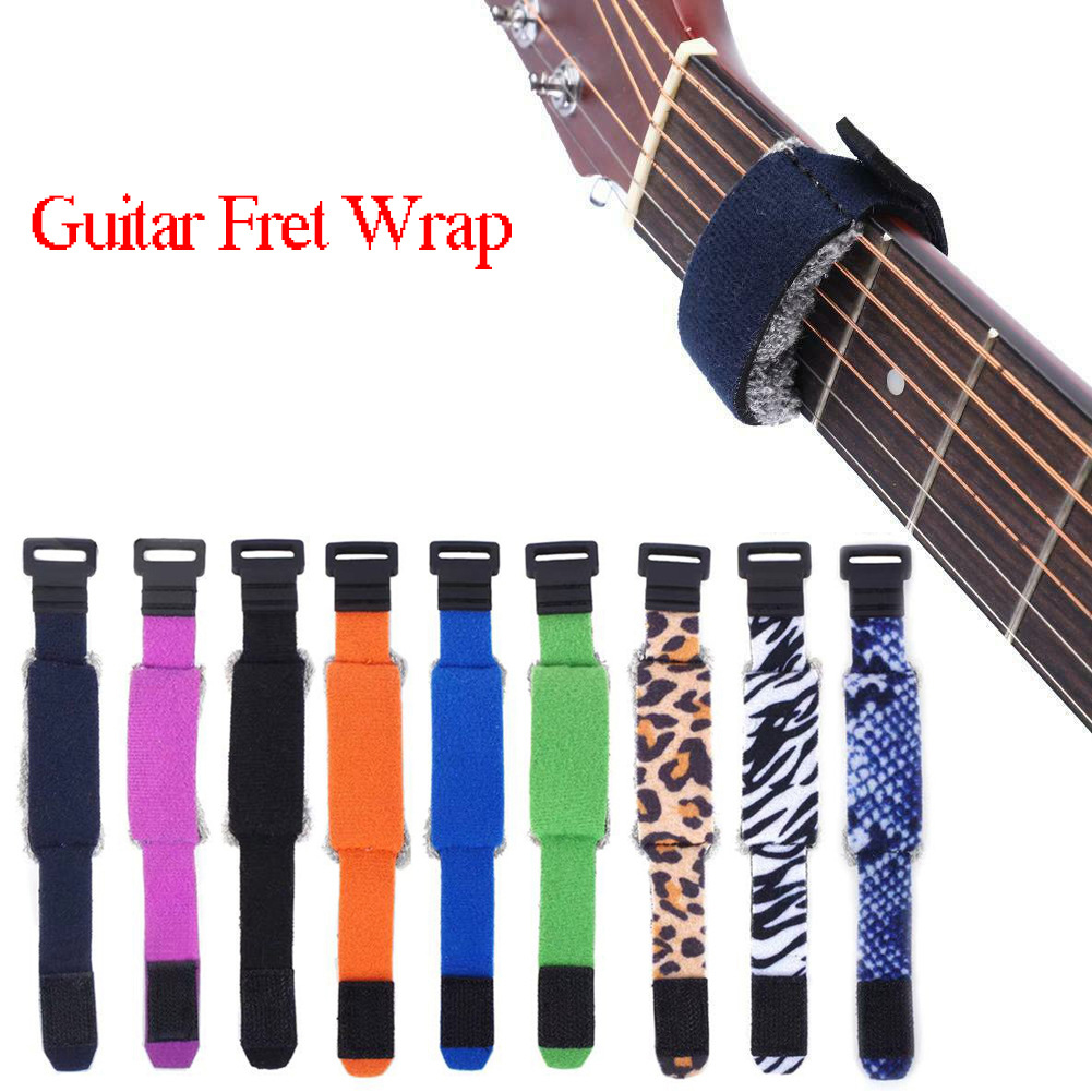 1/3pcs Guitar Fret Wraps String Mute Dampeners For Acoustic Electric Guitar