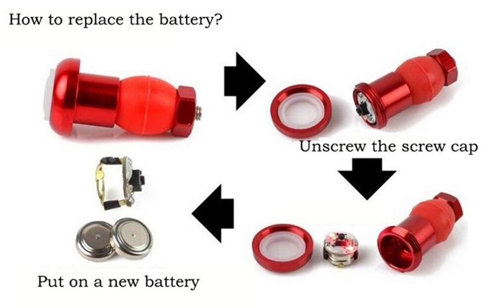 2pcslot Bike Handlebar Light Bicycle Handle Grip LED Turn Signal Safty Warning Cycling Indicator Lamps Bike Lights BC0005 (10)