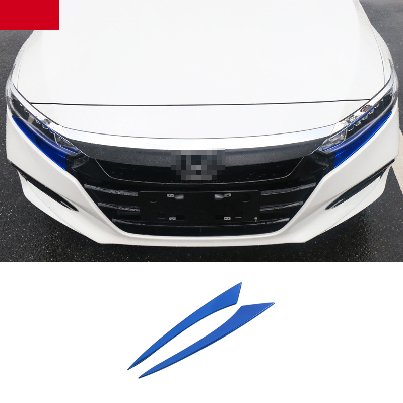 Honda Accord Trims >> Us 22 8 5 Off Lsrtw2017 Car Headlight Trims Decoration For Honda Accord 2018 2019 2020 10th Interior Mouldings Accessories In Interior Mouldings