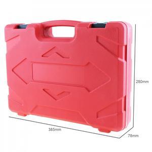 Image 2 - TU 114 0 140PSI / 0 10 Bar Tragbare Compression Kraftstoff Injektion Druck Auto Auto Diagnose Tester Tools Kit mit Sicherheit ventil