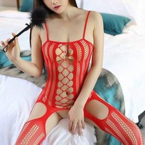 Женское Эротическое нижнее белье сексуальное чулки Lenceria, сексуальное нижнее белье, эротические костюмы для интима, tenue femme erotique размера плюс...