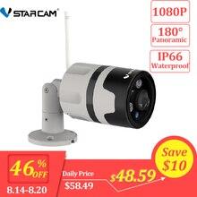 Vstarcam 1080P IP Camera Outdoor Wifi Camera IP66 Waterproof Motion Detection Night Vision Panoramic Bullet Camera C63S цена