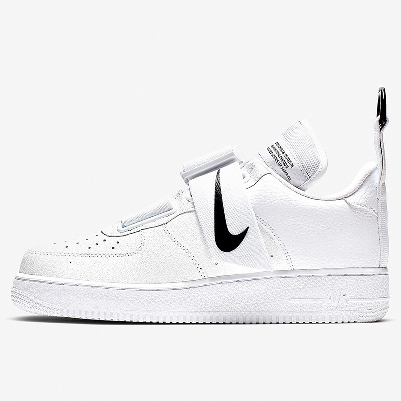 US $60.9 71% OFF|Nike Air Force 1 '07 Just Do It AF1 Breathable Men shateboarding Shoes New Arrival Original Comfortable Sneakers #AR7719 100 in