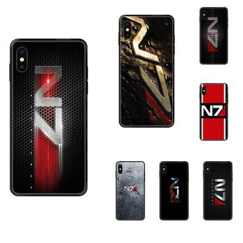 TPU Case Protective For Galaxy Note 4 8 9 10 20 Plus Pro J6 J7 J8 M30s M80s Ultra 2016 2017 2018 Greatest Mass Effect N7 Armour image